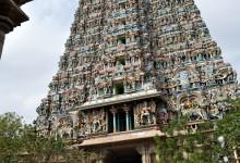 Maduraï, le grand temple