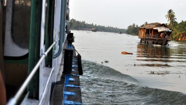 Les backwaters de Quilon et Allepey