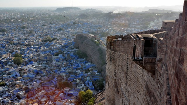 Jodhpur la bleue