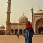 la grande mosquée de Delhi